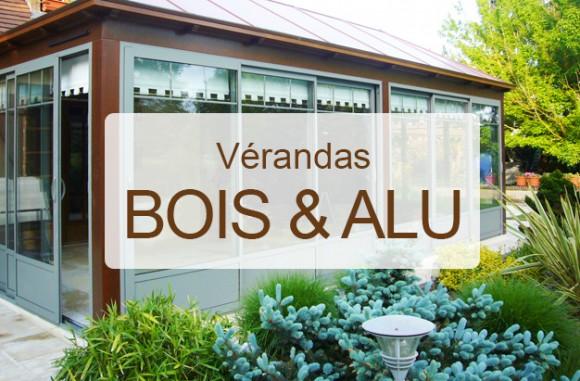 Nos réalisations de vérandas en bois et aluminium